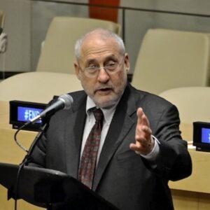 Il Premio Nobel per l'Economia Jospeh Stiglitz lunedì all'Onu (Foto di Jessica Karcz)