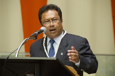 Il presidente della Repubblica di Palau, Tommy Remengesau Jr. UN Photo/Evan Schneider