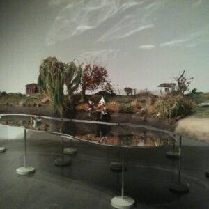 Una delle installazioni dell'artista Pawe? Althamer, esposte al New Museum fino al 13 aprile