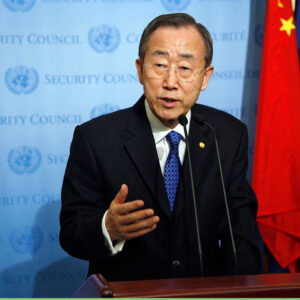 Il Segretario Generale dell'ONU, Ban Ki-moon - UN Photo