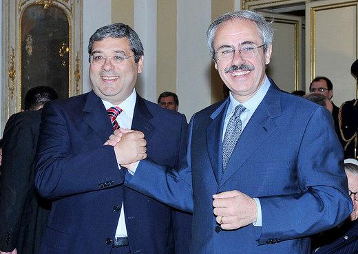 Salvatore Cuffaro e Raffaele Lombardo