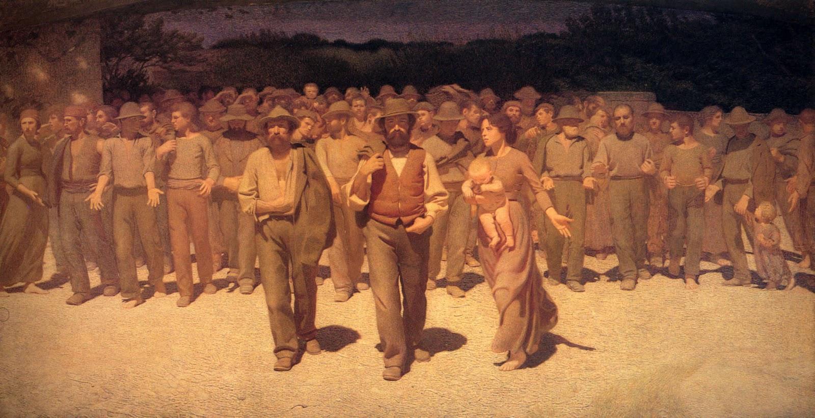 Il Quarto Stato (1901) di Giuseppe Pellizza da Volpedo