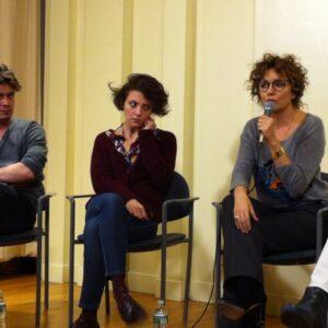 Da sinistra: Riccardo Scamarcio, Jasmine Trinca e Valeria Golino