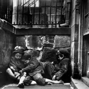 Children sleeping in Mulberry Street, Jacob Riis
