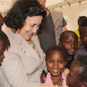 Special Representative for Children and Armed Conflict, Leila Zerrougui. Foto: Children and Armed Conflict