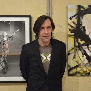 Lee Wells, artista e curatore d'arte, fondatore dell'IFAC. Foto: Ludovica Martella