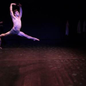 Collin Ranf, protagonista dello spettacolo. Foto: Gisella Sorrentino
