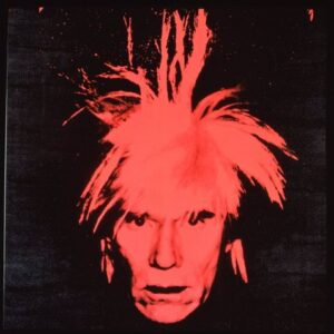 ?Andy Warhol Self Portrait (red on black) 1986 Collezione Brant Foundation © The Brant Foundation, Greenwich (CT), USA © The Andy Warhol Foundation for the Visual Arts Inc. by SIAE 2014
