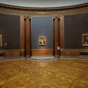"Vista dell'installazione The Poetry of Parmigianino's ""Schiava Turca"" alla Frick Collection. Foto: Lisa Goble"