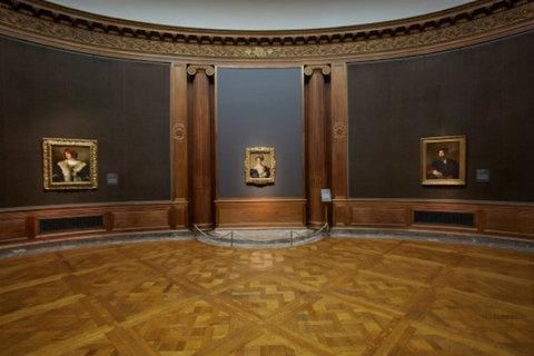 """Vista dell'installazione The Poetry of Parmigianino's """"Schiava Turca"""" alla Frick Collection. Foto: Lisa Goble"""