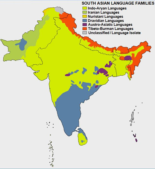 South Asia Language