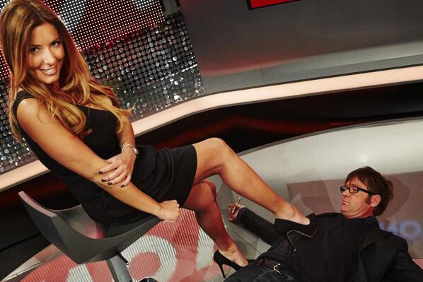 Un'immagine di Selvaggia Lucarelli con Filippo Facci, pubblicata su Twitter dalla blogger e presentatrice TV