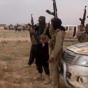 Forze dell'ISIL nei pressi di Mosul