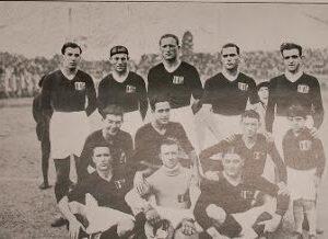 La formazione del Torino che visitò l'Argentina nel 1929