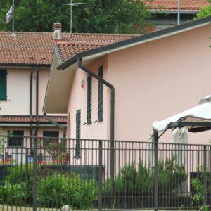 La villetta della provincia di Milano in cui è avvenuto il delitto