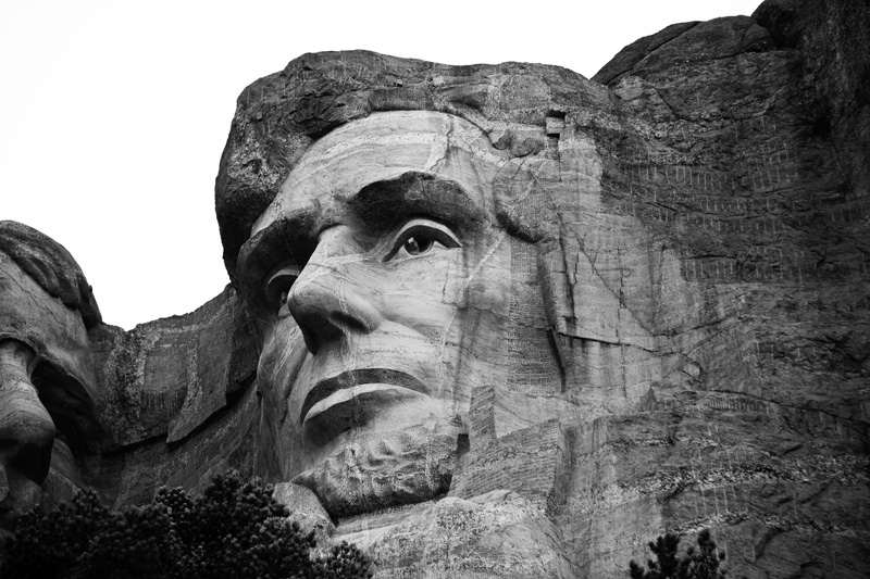 President Lincoln, Mount Rushmore, SD