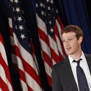 Mark Zuckerberg, co-fondatore e Ceo di Facebook
