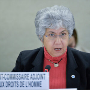 Deputy High Commissioner for Human Rights Flavia Pansieri. UN Photo di Jean-Marc Ferré