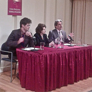 Martino Marazzi (Università di Milano), Josephine Hendin (New York University), Anthony Tamburry (Calandra Institute, CUNY)