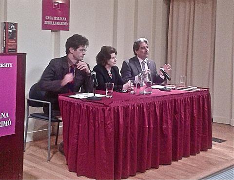 Martino Marazzi (Università di Milano), Josephine Hendin (New York University), Anthony Tamburry (Calandra Institute, CUNY)