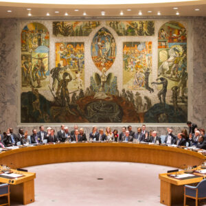 Wide view of the Security Council at its summit held at the level of Heads of Government to address the threat posed by foreign terrorist fighters. UN Photo/Mark Garten