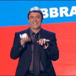 Maurizio Crozza nell'imitazione di Matteo Renzi
