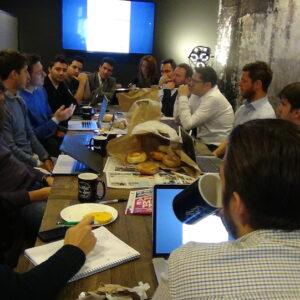 Primo incontro - laboratorio con le startup italiane.