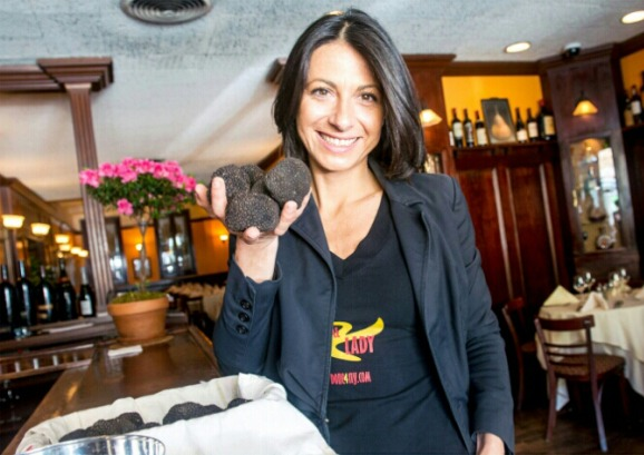 Francesca Sparvoli, la Lady Truffle di New York (Fonte: New York Post).