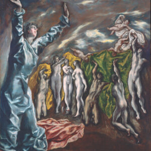 El Greco, The Vision of Saint John. Rogers Fund, 1956