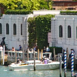 Gli esterni della Peggy Guggenheim Collection a Venezia