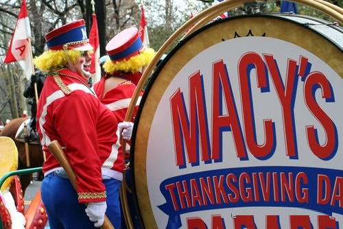 La Macy's Thanksgiving Parade.
