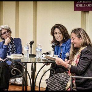 Da sin. Anna Guaita, Luciana Capretti e Flavia Robotti (Foto di Terry Sanders)