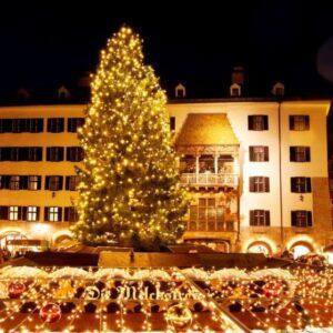 Il centro storico di Innsbruck con il tettucio doro. Foto: TVB Innsbruck