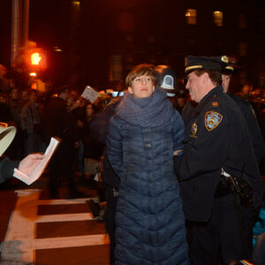 Arresti durante una delle proteste a New York. Foto: Carolina Kroon