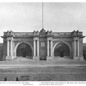 The Asser Levy Public Baths, 1907, Avenue A between 23rd and 24th Street, New York