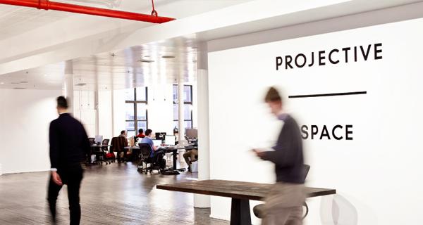 Uno spazio di coworking a New York