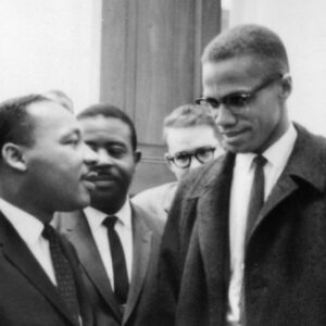 Martin Luther King con Malcom X