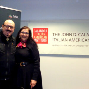 Vincenzo Marra, founder and chairman, with Donna Chirico, new president of ILICA