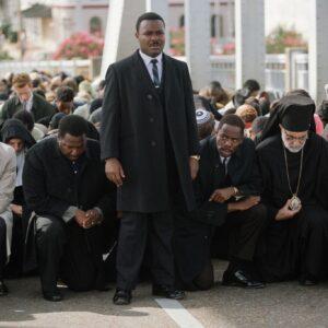 Una scena del film Selma con David Oyelowo nei panni di Martin Luther King