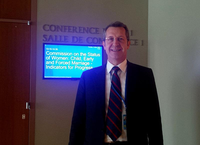 Il sottosegretario agli affari esteri, Benedetto Della Vedova, martedì all'ONU