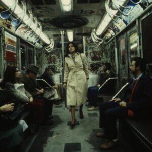 La metropolitana di New York nel 1981 (Foto Chris Morris)