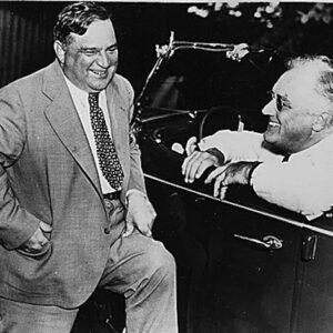 Fiorello La Guardia con il Presidente Franklin Delano Roosevelt