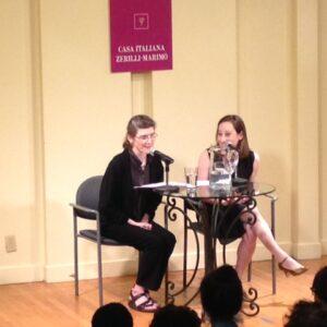 Nella foto, Ann Goldstein (a sinistra) e Rebecca Falkoff