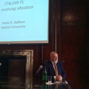 Paolo Balboni all'Istituto Italiano di Cultura di New York