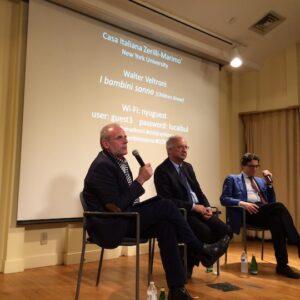 Stefano Albertini, Walter Veltroni e Antonio Monda