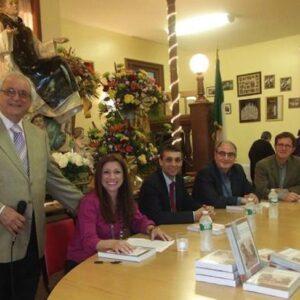 Da sin. Rocco Manzolillo, Elena Luongo, Eugenio Marino, il Prof. Giuseppe Perricone e Andrea Mattiello