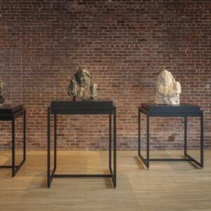 Medardo Rosso exhibition installation view. Photo by Walter Smalling Jr.