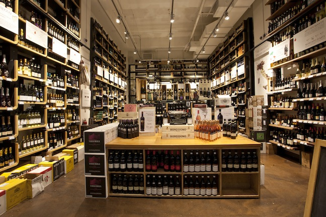 Eataly Vino, New York wine store. Photo by Virginia Rollison