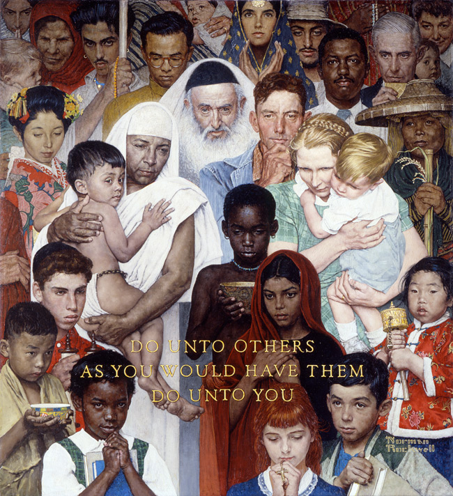 Norman Rockwell, Golden Rule