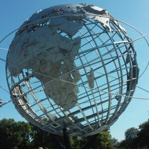 The Unisphere at the New York World's Fair 1964-65. Photo: Ilaria M. P. Barzaghi.